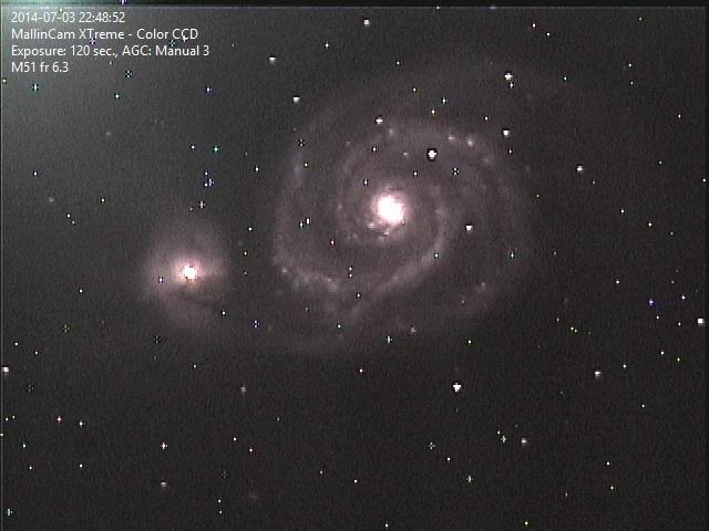 M-51 World Pool Galaxy