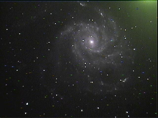 M-101 Pin Wheel Galaxy